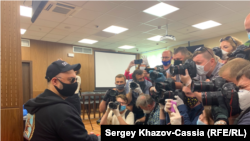 Кирилл Серебренников перед оглашением приговора
