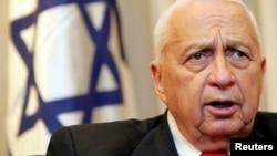 Израильдің бұрынғы премьер-министрі Ариэль Шарон. 2005 жыл.