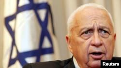 Ariel Sharon, foto iz 2005.