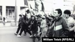 La Timișoara în decembrie 1989 (archive: W. Totok)