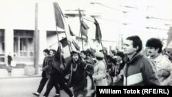 La Timișoara în decembrie 1989 (Arhiva: W. Totok)