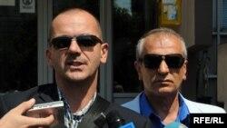 Mihailo Jovović i Branislav Lutovac, Foto: Savo Prelević