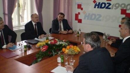 Sastanak političkih čelnika BiH