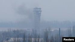 Донецький аеропорт, 12 листопада 2014 року