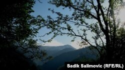 Сребреница маңындағы өрт. 26 тамыз 2012 ж.