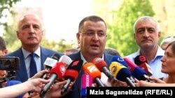Бадри Джапаридзе, Звиад Кордзадзе и Мамука Хазарадзе