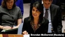 Посол США в ООН Никки Хейли.