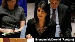 Ambasadorja e SHBA-së në OKB, Nikki Haley