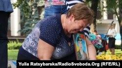 В Днепре почтили память погибших в сбитом под Луганском самолете, 14 июня 2016 года