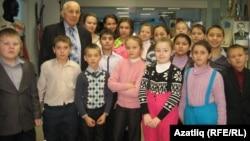 Михаил Землянов музейда татар сыйныфлары укучылары белән