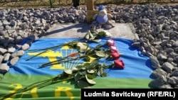 На могиле Николая Григорова