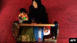 Афганка с детьми. Иллюстративное фото.