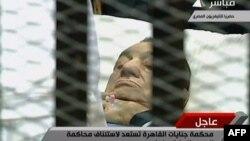 Ish presidenti i Egjiptit, Hosni Mubarak...