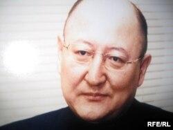 Копия фотографии оппозиционного политика Алтынбека Сарсенбаева.