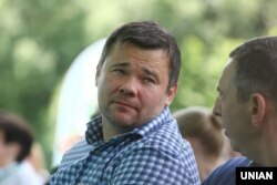 Ексголова Офісу президента України Андрій Богдан