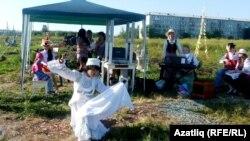 Омскиның Загородная бистәсе татарлары