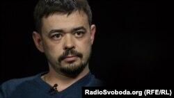 Кирило Недря, оборонець Донецького аеропорту, політолог. Київ, 2017 рік