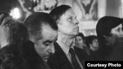 Рыгор Барадулін і Васіль Быкаў