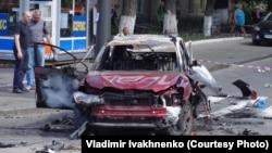 2016 yil 20 iyunda Kievda portlagan ushbu mashina ichida jurnalist Pavel Sheremet bo'lgan.