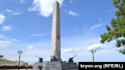 Керч, гора Мітрідат, Меморіал військової слави і пам'яті полеглих у боротьбі з німецько-фашистськими загарбниками. Архівне фото