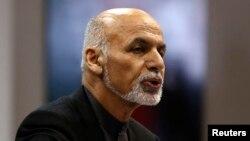 Афғонистон президенти Ашраф Ғани Аҳмадзай.