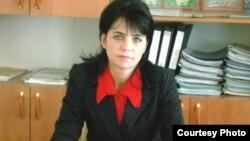 Елена Козырева, мать полицейского Руслана Козырева.