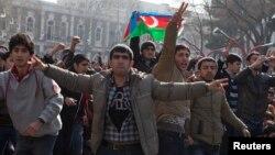 Բողոքի ցույցը Բաքվում, 10-ը մարտի, 2013թ.