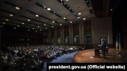 Президент України Петро Порошенко у Вашингтоні