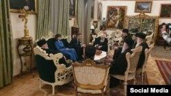 ბიძინა ივანიშვილის შეხვედრა კათოლიკოს-პატრიარქ ილია მეორესთან (საარქივო ფოტო)