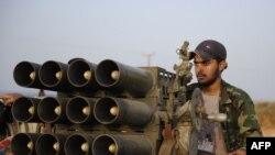 Ливияның өтпелі үкіметінің күштері.
