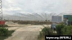 Строительство тепличного комплекса в Белогорском районе, 1 сентября 2019 года