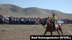 Конные состязания в Казахстане