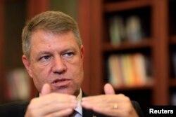 Новый президент Румынии Клаус Иоханнис