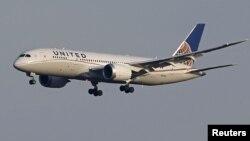 Një aeroplan i kompanisë Boeing