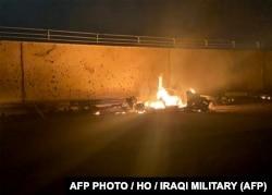 Спецоперация США в аэропорту Багдада, 3 января 2020 года