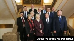 Ambasadori zemalja EU sa Mladenom Ivanićem u Banskom dvoru u Banjaluci