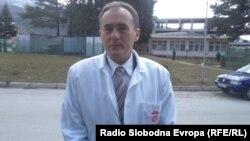 Д-р Љубен Арнаудов, директор на општа болница Охрид.