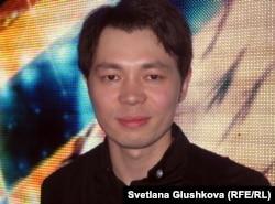 """Нурбол Балапанов, победитель конкурса """"Жас канат - 2011"""". Астана, 20 мая 2012 года."""