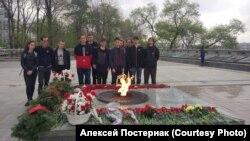 """Акция """"Красный мак"""" во Владивостоке"""