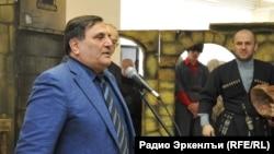 ГIумаханов Сайгидпаша Авар театралда авар мацIалъул къо кIодо гьабиялъул тадбиралда