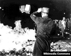 Сожжение книг в Берлине, 10 мая 1933 года