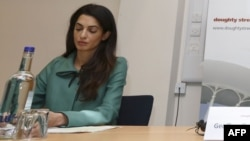 British-Lebanese lawyer Amal Alamuddin has been names as part of an investigative team probing alleged war crimes in Gaza.