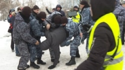 Dozens Detained As Police Block Opposition Rallies in Kazakhstan
