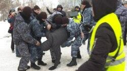 Dozens Detained As Police Block Opposition Rallies in Kazakhstan