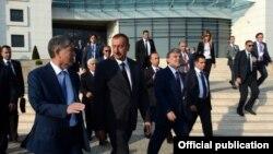 Встреча в верхах Совета сотрудничества тюркоязычных государств, Габала, 16 августа 2013 года.