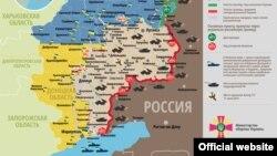 Ситуация в зоне боевых действий на востоке Украины на 11 марта