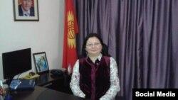 Самаргуль Адамкулова.