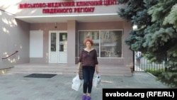 Вольга Нікалайчык прыехала да Васіль Парфянкоў у шпіталі ў Адэсе
