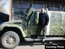 Цей броньовик належав синові Януковича. Тепер він на передовій в українських військових.