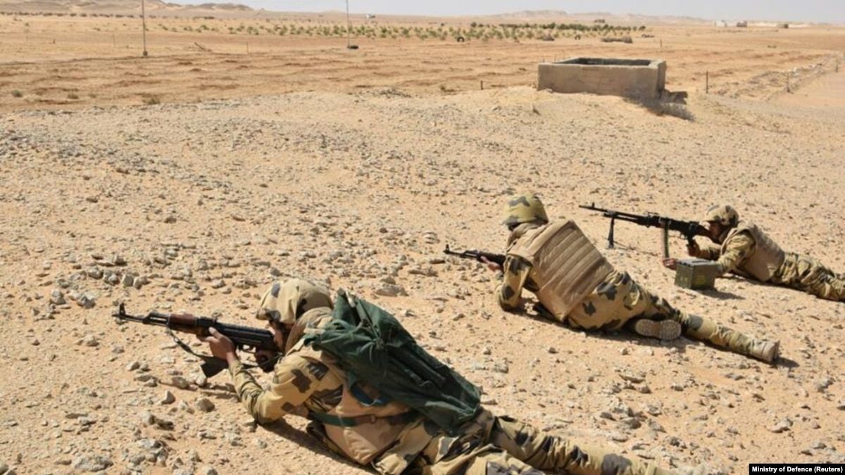 Forcat e Egjiptit vrasin dhjetëra militantë të IS it
